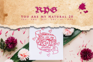Print on Demand: RPG - You Are My Natural 20, Valentines Graphic Crafts By Novart