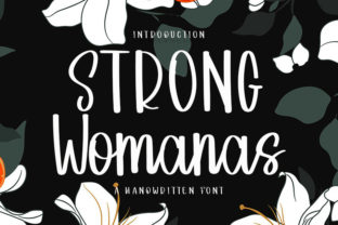 Print on Demand: Strong Womans Script & Handwritten Font By Inermedia STUDIO