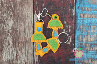Table Lamp ITH KeyFob Snaptab Bedroom Embroidery Design By embroiderydesigns101