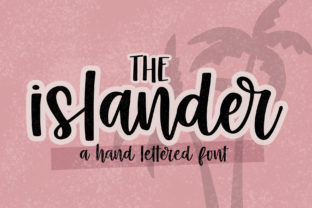 Print on Demand: The Islander Script & Handwritten Font By dansiedesign