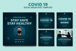 Covid 19 Social Media Post Template Graphic Graphic Templates By Creative Canvas