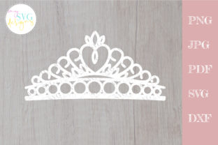 Crown Svg, Cake Topper Svg, Quinceanera Graphic Crafts By MySVGDesigns