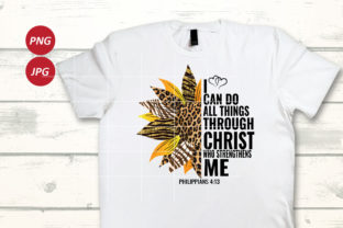 I Can Do All Things Through Christ Graphic Illustrations By Army Custom 3