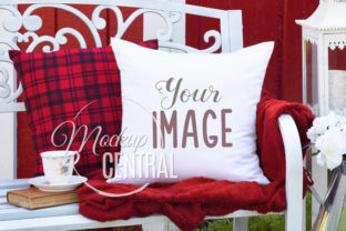 Outdoor Nature Chair Mockup Pillow Graphic Product Mockups By Mockup Central