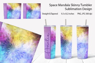 Skinny Tumbler Sublimation Design Space Graphic Backgrounds By KaSia Design
