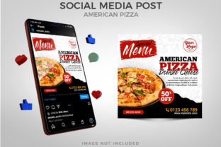 Special Menu American Pizza Social Media Graphic Websites By Eyestetix Studio