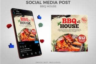 BBQ House Social Media Graphic Websites By Eyestetix Studio