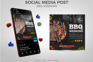 BBQ Weekend Social Media Post Graphic Websites By Eyestetix Studio