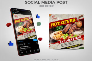 Hot Offer Food Menu Social Media Post Graphic Websites By Eyestetix Studio