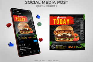 Special Today Menu for Social Media Post Graphic Websites By Eyestetix Studio