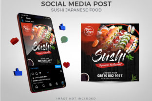 Sushi Menu Promotion Social Media Graphic Websites By Eyestetix Studio