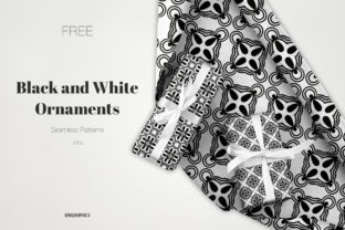 Black and White Ornaments Patterns Graphic Patterns By GVGraphics