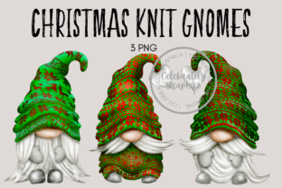 Christmas Jumper Gnomes Clipart Graphic Illustrations By Celebrately Graphics