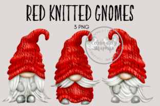 Christmas Knitted Jumper Gnomes Graphic Illustrations By Celebrately Graphics