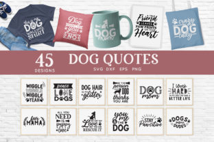 Dog Mom Svg Bundle - Dog Quotes Svg Png Graphic Crafts By peachycottoncandy