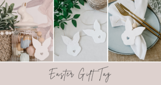 Creative Easter Gift Tag Made With Polymer Clay