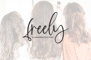 Print on Demand: Freely Script & Handwritten Font By BeckMcCormick