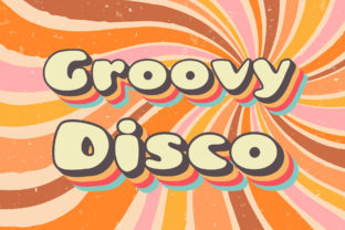 Print on Demand: Groovy Disco Display Font By Vladimir Carrer