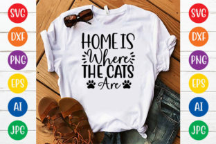 HOME is WHERE the CATS ARE Graphic Crafts By ismetarabd