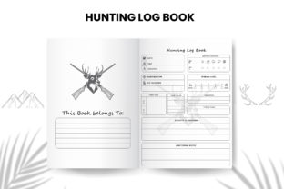 Print on Demand: Hunting Log Book KDP Interior Graphic KDP Interiors By Design invention