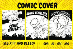 Print on Demand: KDP Interior - Comic Cover Explosion Graphic KDP Interiors By edywiyonopp