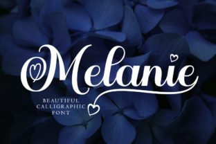 Print on Demand: Melanie Script & Handwritten Font By Aqeela Studio