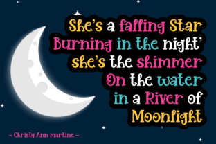 Print on Demand: Night in Tuesday Color Fonts Font By Dreamink (7ntypes) 2