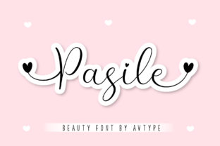 Print on Demand: Pasile Script & Handwritten Font By AV Type