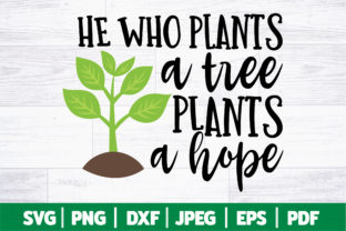 Plant a Tree SVG | Earth Day SVG Graphic Crafts By SeventhHeaven Studios
