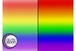 Rainbow Background Paper - Horizontal Graphic Backgrounds By Eryn Milliken