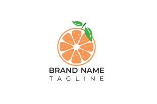 Print on Demand: Slice Orange Logo for Fruits  Company Graphic Logos By ivect