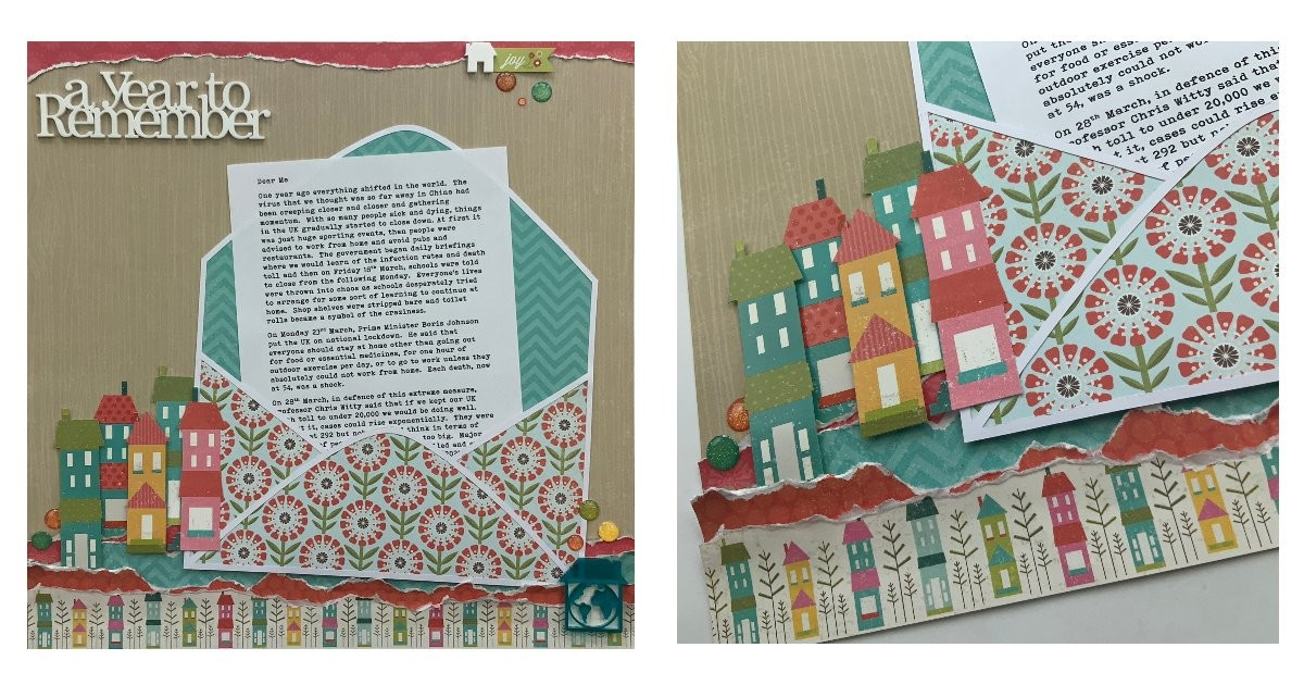 Story Telling Scrapbook Layouts Without The Photos