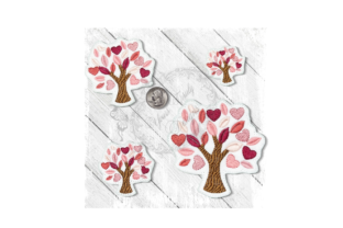 Tree Vday Forest & Trees Embroidery Design By Yours Truly Designs