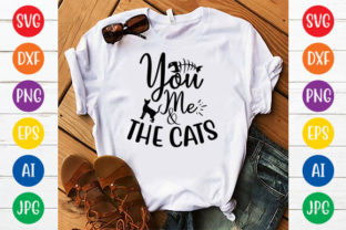 YOU ME and the CATS Graphic Crafts By ismetarabd