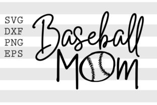 Baseball Mom SVG Graphic Crafts By spoonyprint