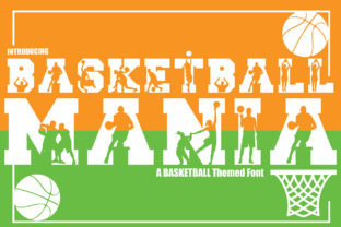 Print on Demand: Basketball Mania Decorative Font By KtwoP