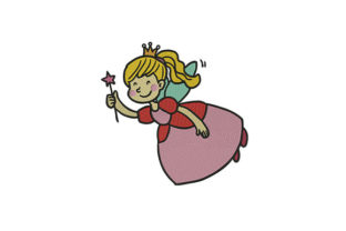 Fairy Fairy Tales Embroidery Design By DigitEMB