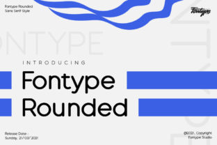 Print on Demand: Fontype Rounded Sans Serif Font By fadilahridwan69
