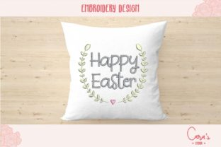 Happy Easter Easter Embroidery Design By carasembor
