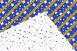 Print on Demand: Independence Day Seamless Patterns Graphic Patterns By TheGGShop 2