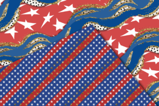 Print on Demand: Independence Day Seamless Patterns Graphic Patterns By TheGGShop 5