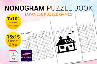 Print on Demand: Nonogram Puzzle Books (Hanjie, Picross) Graphic KDP Interiors By PEN_TOOLS