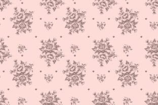 Seamless Rose Pattern Graphic Patterns By sabbirahmed012
