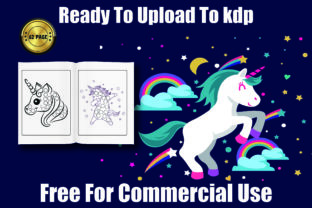 Unicorns Dot Markers Coloring Book 30p Graphic Coloring Pages & Books Kids By Moonz Coloring