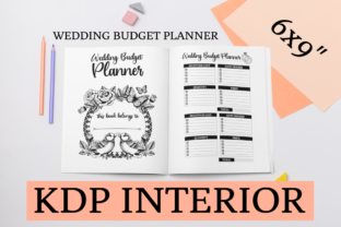 Print on Demand: Wedding Budget Planner | KDP Interior Graphic KDP Interiors By KDP Mastermind