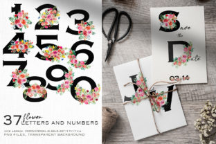 Wild Flowers Watercolor Collection Graphic Illustrations By HappyWatercolorShop 9