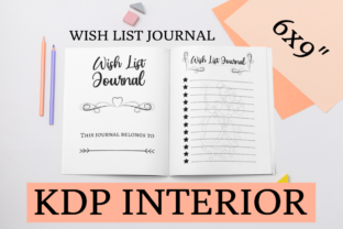 Print on Demand: Wish List Journal | KDP Interior Graphic KDP Interiors By KDP Mastermind