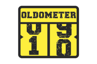 Oldometer 10 Years Birthday Craft Cut File By Creative Fabrica Crafts