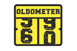 Oldometer 60 Years Birthday Craft Cut File By Creative Fabrica Crafts