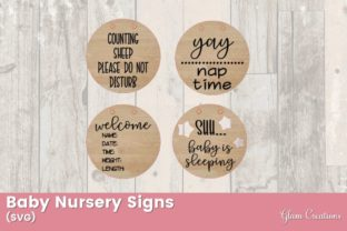 Baby Nursery Signs Graphic Crafts By Glam Creations